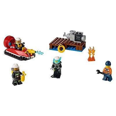 Lego City - Conjunto Iniciação para Combate ao Fogo