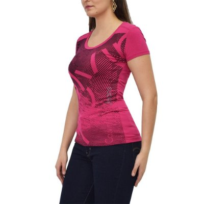 Blusa Feminina Estampada Pink - Calvin Klein Jeans