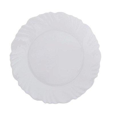 Prato de Sobremesa de Vidro Opaline Pétala - Duralex