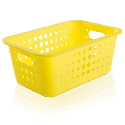 Caixa Organizadora Média - Amarelo - Ou