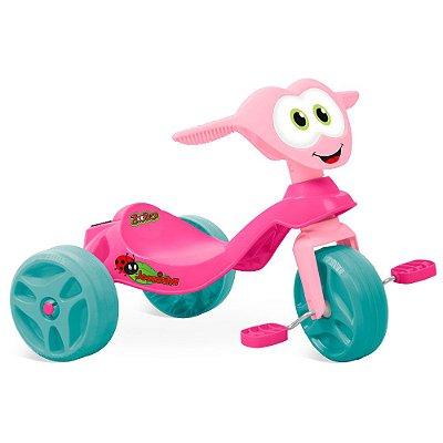 Triciclo Infantil Zootico Joaninha - Bandeirante