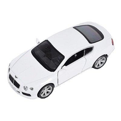 Carrinho Super Marcas - Bentley Continental GT V8 Branco - DTC
