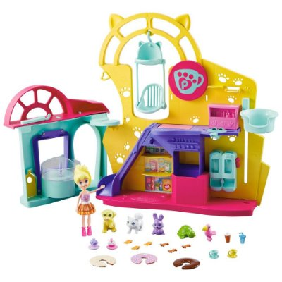 Polly Pocket - Café dos Bichinhos -Mattel