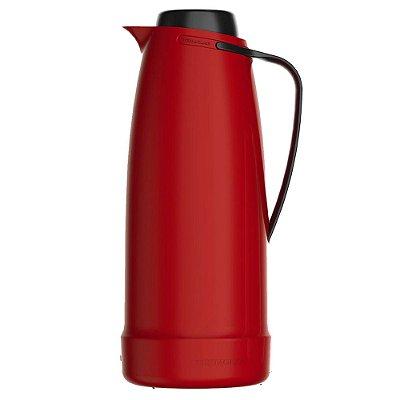 Bule Térmico Dama Vermelho - 1 Litro - Termolar