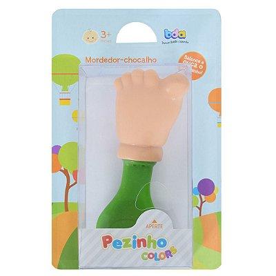 Mordedor-Chocalho Pezinho Colors Verde - Toyster