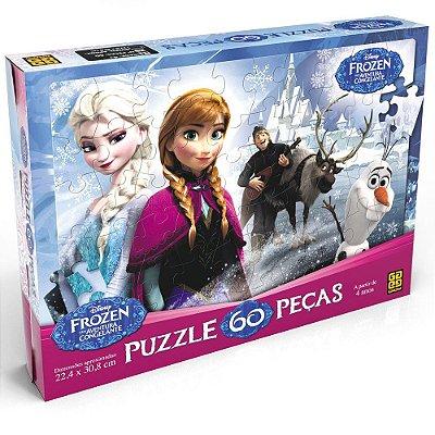 Quebra-Cabeça Frozen - 60 peças - Grow