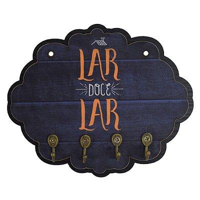 Porta Chaves Lar Doce Lar - Vikos