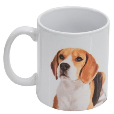 Caneca de Cerâmica - Eu amo meu Beagle - Vikos