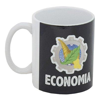 Caneca Profissão Preta 300ml - Economia - Vikos