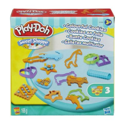 Play-Doh Sweet Shoppe - Cookies Coloridos - Hasbro
