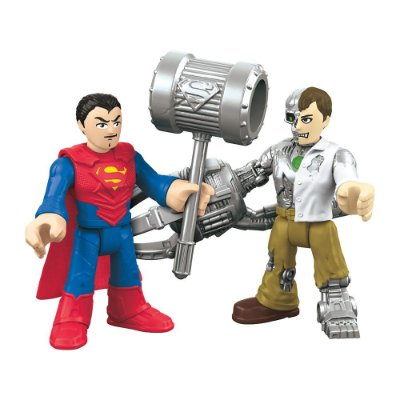 Imaginext - Super Homem e Metallo - Super Friends