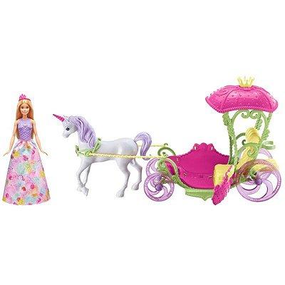 Barbie Dreamtopia - Carruagem Dom Princessa - Mattel