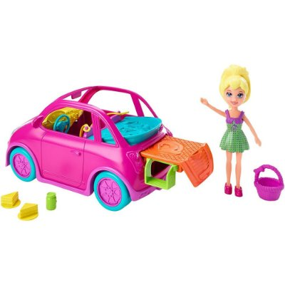 Polly Pocket Veículo - Piquenique Sobre Rodas - Mattel