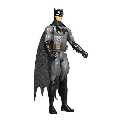 Boneco Batman Preto e Cinza - Justice League 30 cm - Mattel