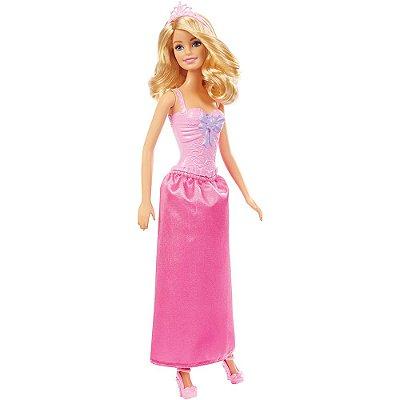 Boneca Barbie Princesa Básica - Loira - Mattel