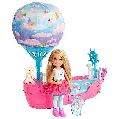 Boneca Barbie Dreamtopia - Barco Dos Sonhos - Chelsea - Mattel