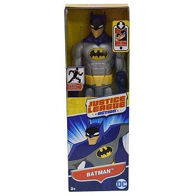 Boneco Batman Cinza e Azul - Justice League 30 cm - Mattel