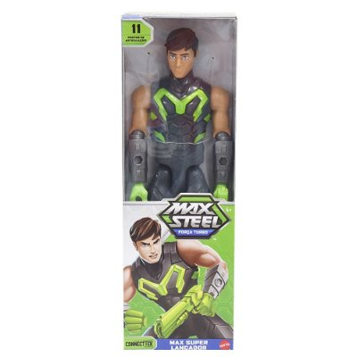 Boneco Max Steel - Max Super Lançador - Mattel