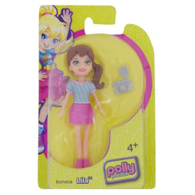 Boneca Polly Pocket Sortida - Lila e Câmera - Mattel