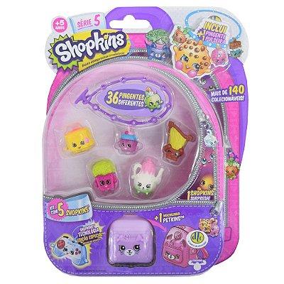 Shopkins Blister Kit 3 com 5 Personagens - Série 5 - DTC