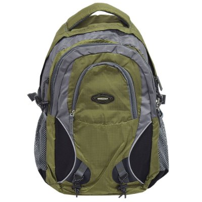 Mochila Para Notebook Colors - Cinza e Verde - Republic Vix
