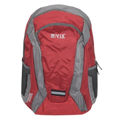 Mochila Para Notebook Leisure Sports - Vermelha e Cinza - Republic Vix