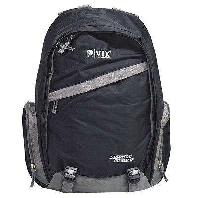 Mochila Para Notebook Confort - Preto e Cinza - Republic Vix