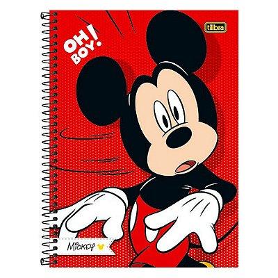 Caderno Mickey Mouse - Mickey Oh Boy! - 1 Matéria - Tilibra
