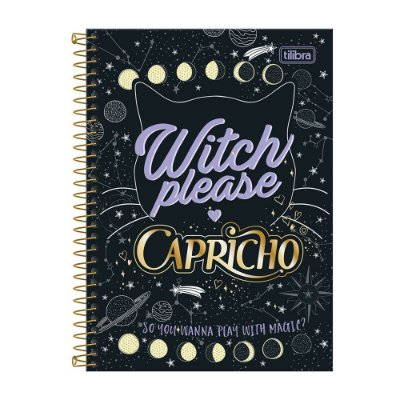 Caderno Universitário Capricho - Witch Please - 10 matérias