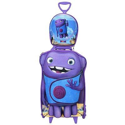 Kit Mochila Infantil 3D + Lancheira - Home - Diplomata