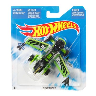 Hot Wheels - Aviões SkyBusters - Freeway Flyer - Mattel