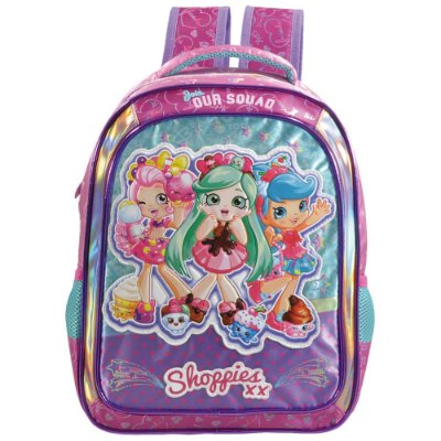 "Mochila Infantil Shoppies Join Our Squad 16"" - Xeryus"
