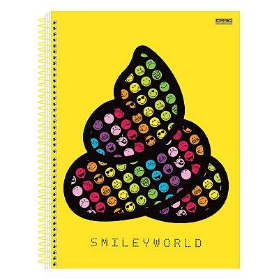 Caderno Smiley - Cocô - 1 Matéria - São Domingos