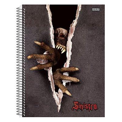 Caderno Sinistro Lobisomem - 10 matérias - São Domingos
