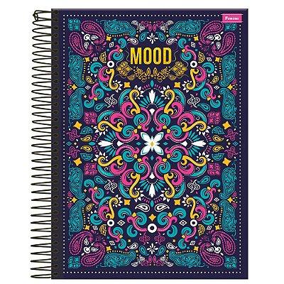 Caderno Mood - Azul Marinho - 1 Matéria - Foroni