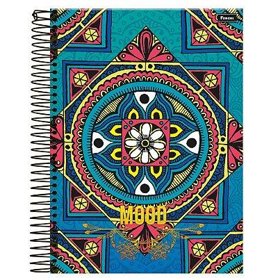 Caderno Mood - Ladrilho - 1 Matéria - Foroni