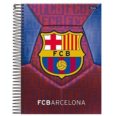 Caderno Universitário Barcelona - Emblema - 96 folhas - Foroni