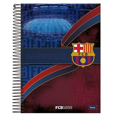 Caderno Universitário Barcelona - Camp Nou - 96 folhas - Foroni