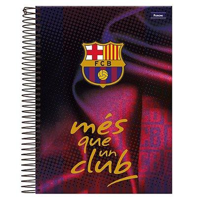 Caderno Barcelona - Més Que Un Club - 10 Matérias