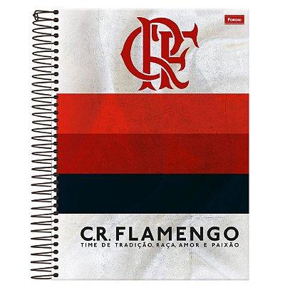 Caderno Flamengo - Listras - 10 Matérias - Foroni