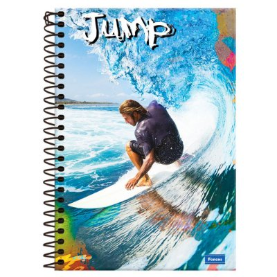Caderno Jump - Surf - 1 Matéria - Foroni