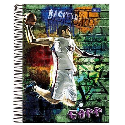Caderno Gapp - Basketball - 10 Matérias - Foroni