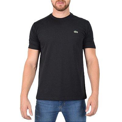 Camiseta Masculina Básica Sport - Preta - Lacoste