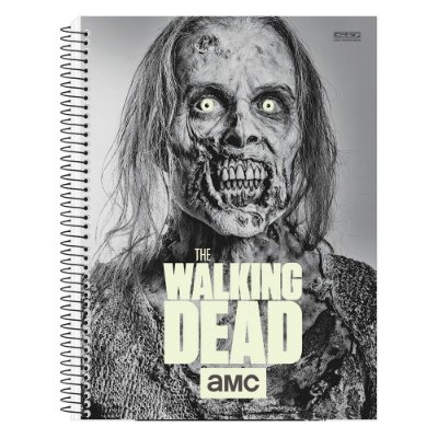 Caderno The Walking Dead - Zumbi - Brilha no Escuro - 1 matéria