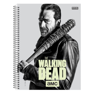 Caderno The Walking Dead - Negan - Brilha no Escuro - 1 matéria