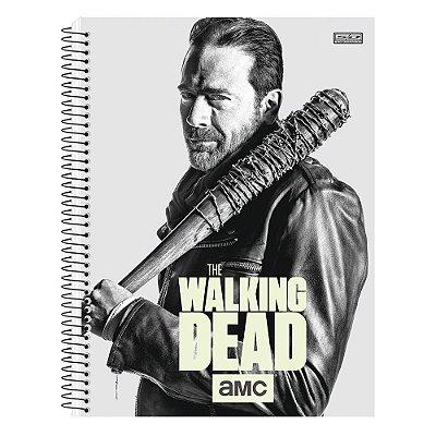 Caderno The Walking Dead - Negan - Brilha no Escuro - 10 matérias