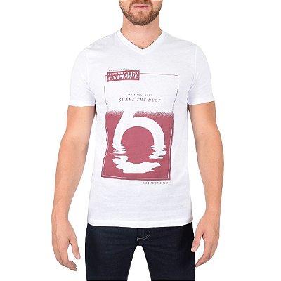 Camiseta Masculina - Branca - World Extreme