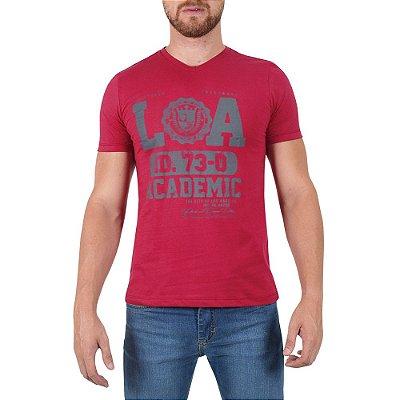 Camiseta Masculina - Vermelha - World Extreme
