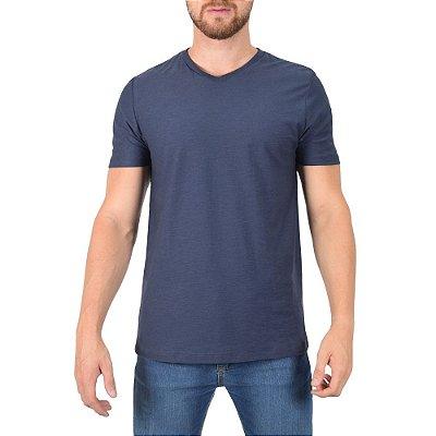 Camiseta Masculina Flame Básica - Azul Escuro - Fore