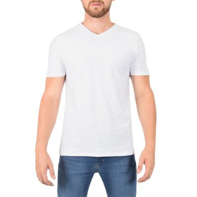 Camiseta Masculina Flame Básica - Branca - Fore